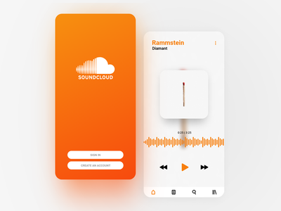 Soundcloud UI Concept