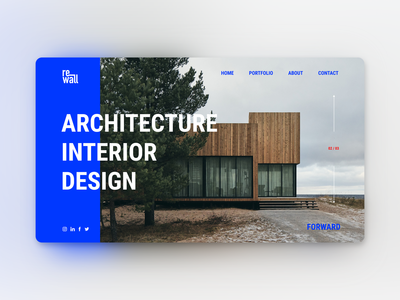 Rewall Architects Website