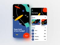 Budget Planning App UI Concept