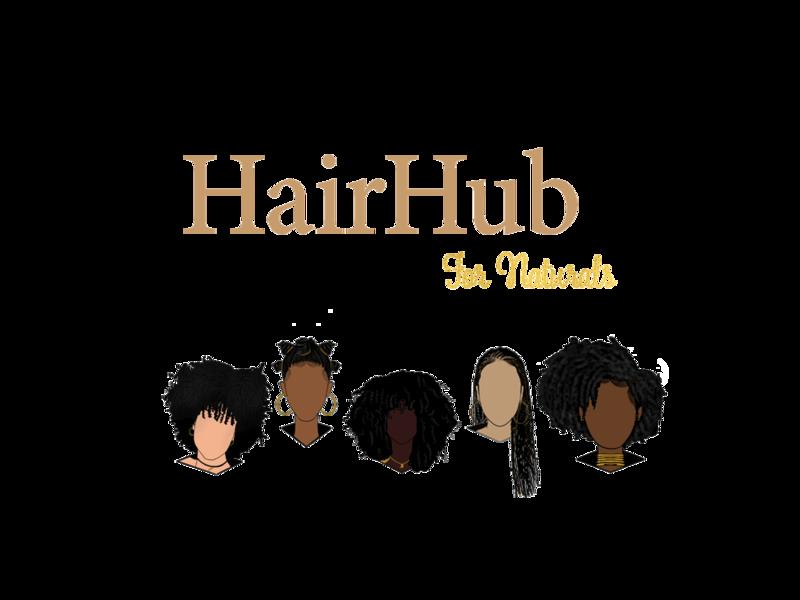 Hair Hub for Naturals. minimal logo design designer branding design branding brand identity illustration