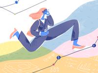 Women in Business - Editorial Illustration