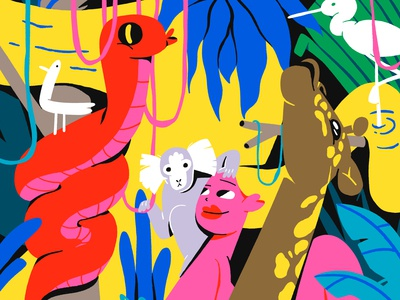 Jungle for Ukrainian Mural Contest