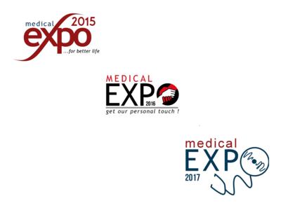 Logo for Medical Exhibition