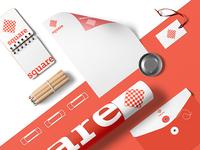 Brand Identity Design for Square