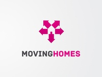 Moving Homes Logo Design