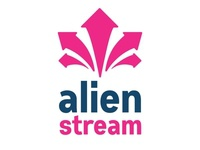Alien Stream Logo Design