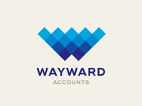 Wayward Accounts Logo Design