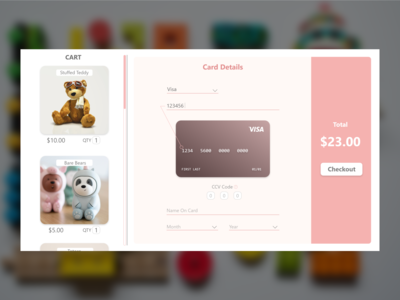 Daily UI 2  - Checkout