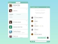Daily UI 13 - Direct Message xd mobile dailyui ui design