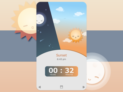 Daily UI 14 - Countdown Timer