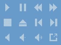 Dot Icons - Media Player