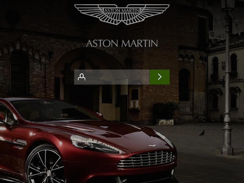 Aston Martin App Concept By Adam Bruzon On Dribbble