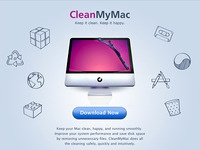 CleanMyMac interactive landing page