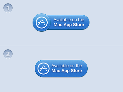 Mac App Store Button mas apple mac app store button pictogram macaw