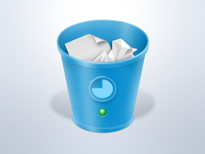 Trash Status Monitor Icon icon trash status monitor macpaw
