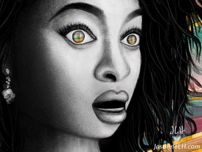"""Adobe Munch Contest   """"Blank Scream"""" Detail 2"""