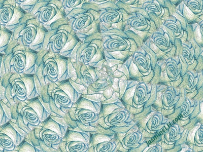 Pattern Play 4   Roll of Roses