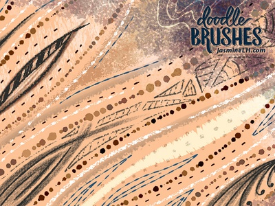 Doodle Brushes | Sample Sheet 2