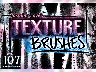 Grungy, Gorgeous, Diverse Texture Brushes!