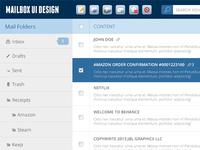 Mailbox UI Design