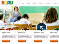 Christian School Website