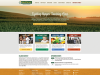 Island Harvest Homepage Design