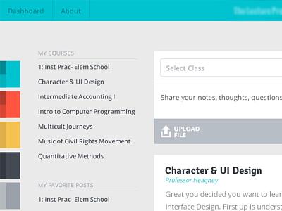 Wip Social Dashboard ui ux design web dashboard flat wip social network