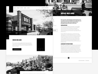Unused Design corporate design black and white web ux clean black  white