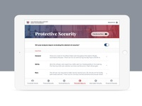 Security Analysis iPad App