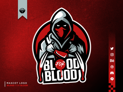 Assassin Mascot Logo