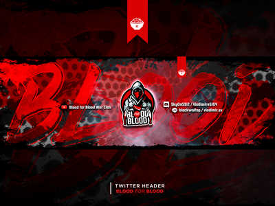 Twitter Header Blood for Blood