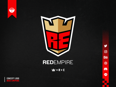 Red Empire Concept Logo