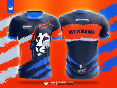 Heralds eSports Official Jersey