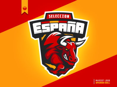 Spanish Bull Mascot Logo