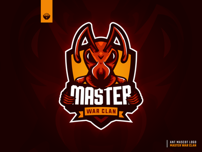 Ant Mascot Logo