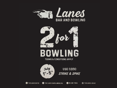 Lanes Bar and Bowling Wellington