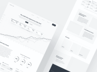 crypto fintech wireframes