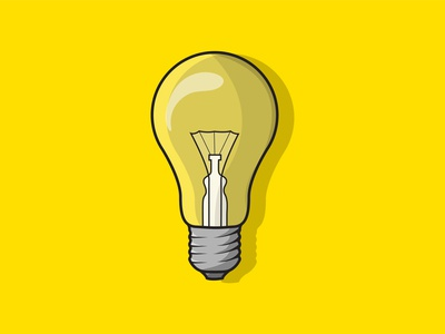 Electric Bulb Vector