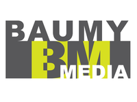 Baumy Media Logo Idea 4 rnd 2