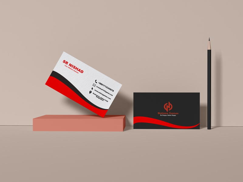 Professional Business Card business card graphic design design template card business professional