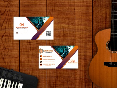 Professional Mock UP Business Card