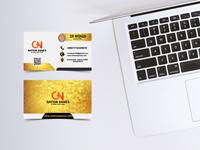 Professional Mock up Business Card Design