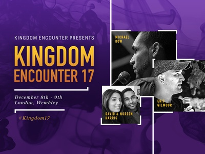 Kingdom Encounter 17 church graphic design revival uk ministry