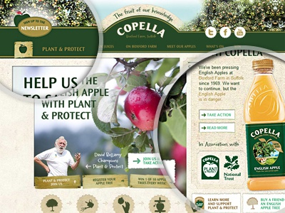 Copella Website brand website copella