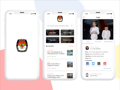 KPU Mobile Apps Redesign Concept