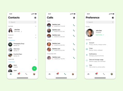 Whatsapp Redesign Concept Part II