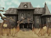 Neibolt House Background Art