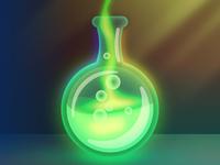 Glowing Green Potion