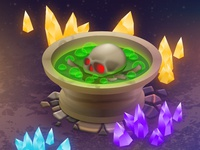 Skull Cauldron