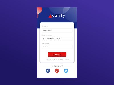 DailyUI Sign Up Screen 001 sign up signup dailyui 001 uidesign userinterface dailyuichallenge 001 dailyui001 ui dailyui